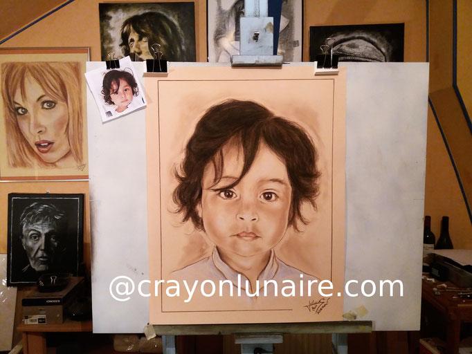 Portrait-enfant-pastel