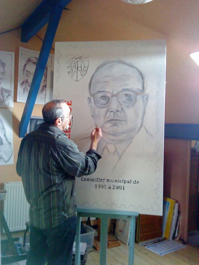 Portrait d'un élu local by crayon lunaire.