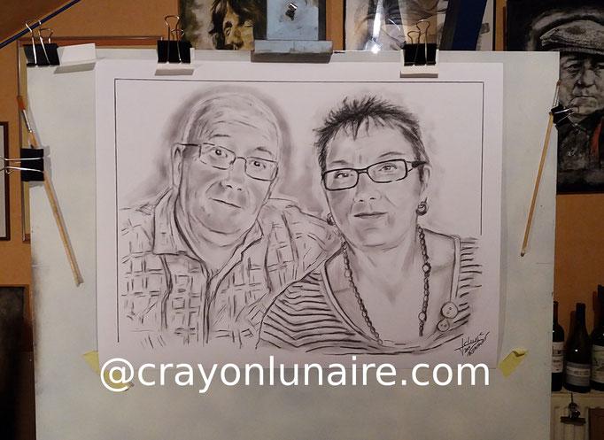 Couple-portraits-fusain