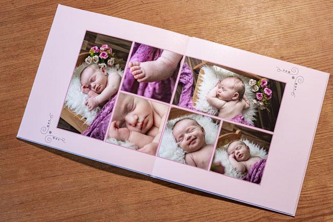 Fotobuch, Profibuch, Foto, professionelles Fotobuch, Babybuch, Erinnerungsbuch, Drucksachen, Printprodukte, Fotoprints