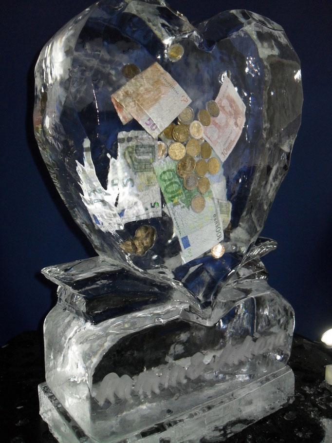 Einfrierung: Geldwirbel im Herz