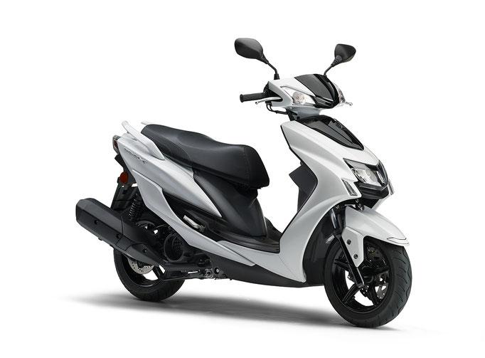 2020年モデル シグナスX ホワイト