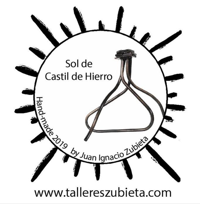 Pegatina espejo Sol de Castildehierro