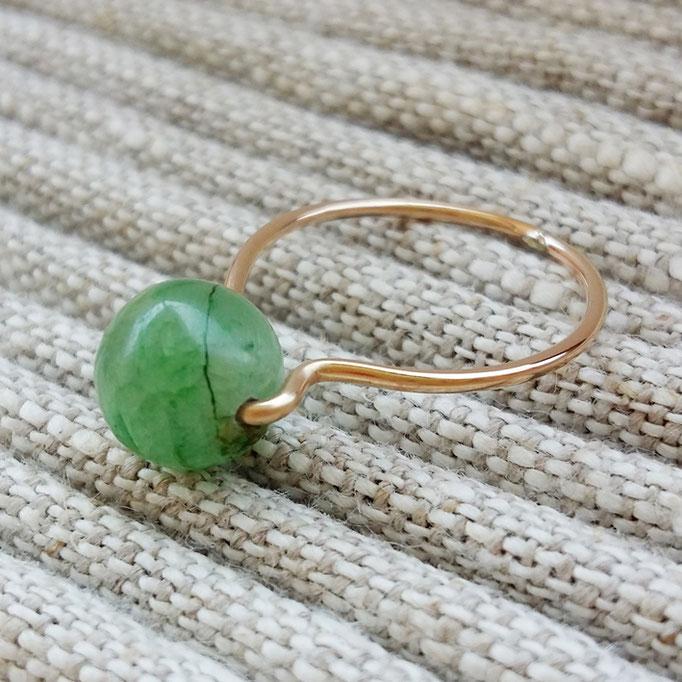 KYANIT Ring, Gold Filled 38,-