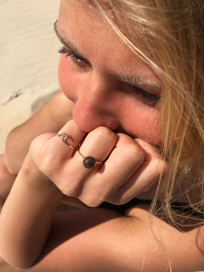 WAVE Ring, Gold Filled 32.50,-