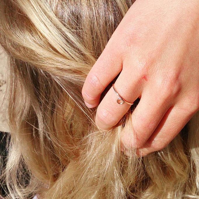 KREIS Ring, Gold Filled