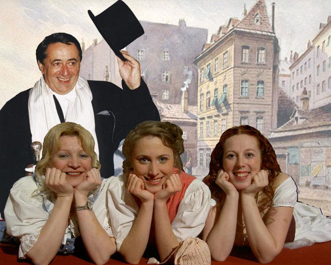 Dreimäderlhaus mit Richard Lugner als Gaststar