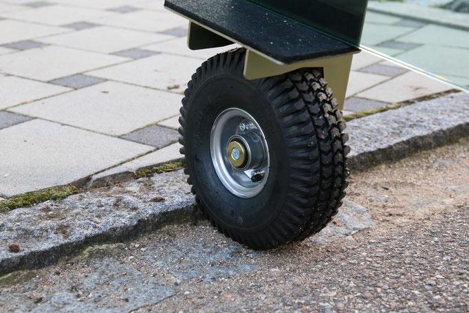 TS ERW 250 Air Einradwagen Glastransportwagen - bis 250 kg Tragkraft transportsolution