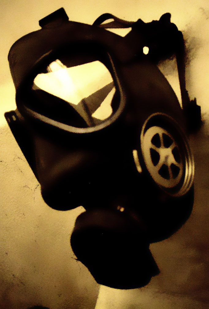 maschera anti gas - Anti Gas Gasmaske - the mask