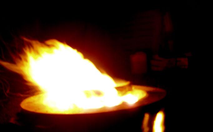 Lagerfeuer Kronplatz - campfire - falò Corones