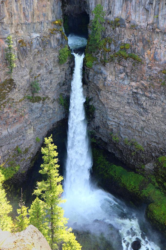 Spahat Falls dans le Wells Gray Provincial Park (Colombie-Britannique - Canada)