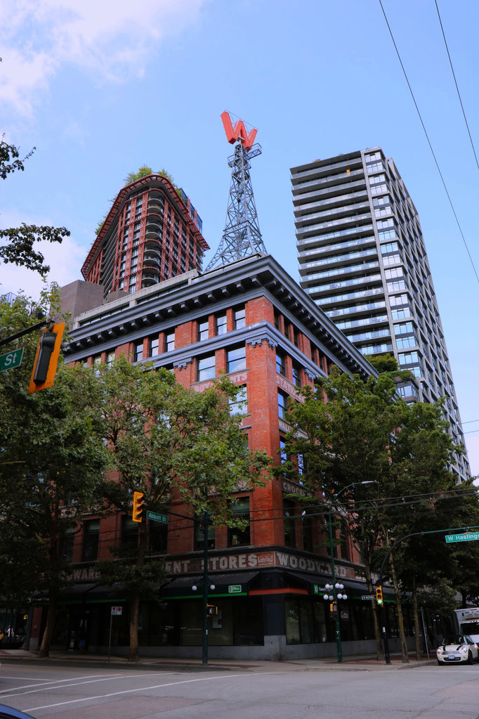 Woodwards Building, Downtown, Vancouver