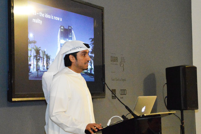 COO of d3 - Mohammad Saeed Al Shehhi.