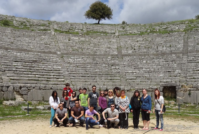 Participants in archaeological place of Dodoni