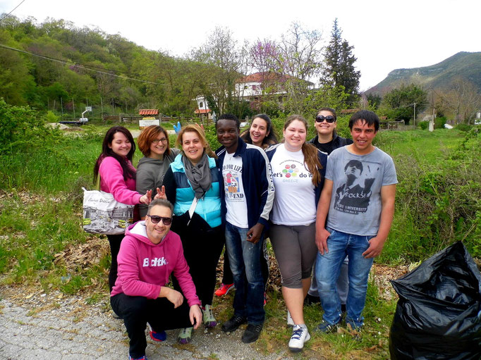 Part of our team in Konitsa!