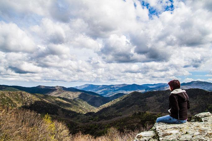 Randonnée et vue magnifique
