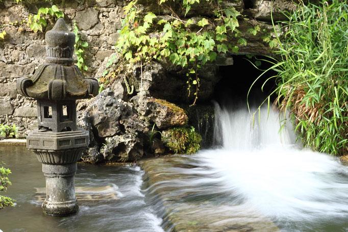 Bambouseraie d'Anduze l'eau qui coule