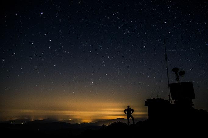 Ciel étoilé Mont Bougès