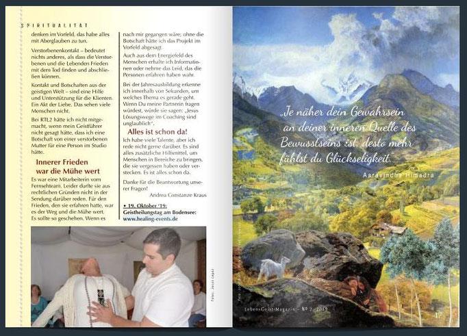 Interview mit Jesus Lopez und Termine
