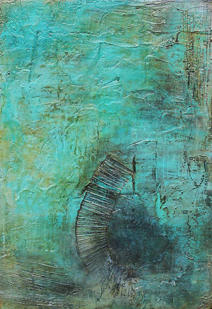 Water Breeze VI | 100cm x 70cm x 4cm | 2018