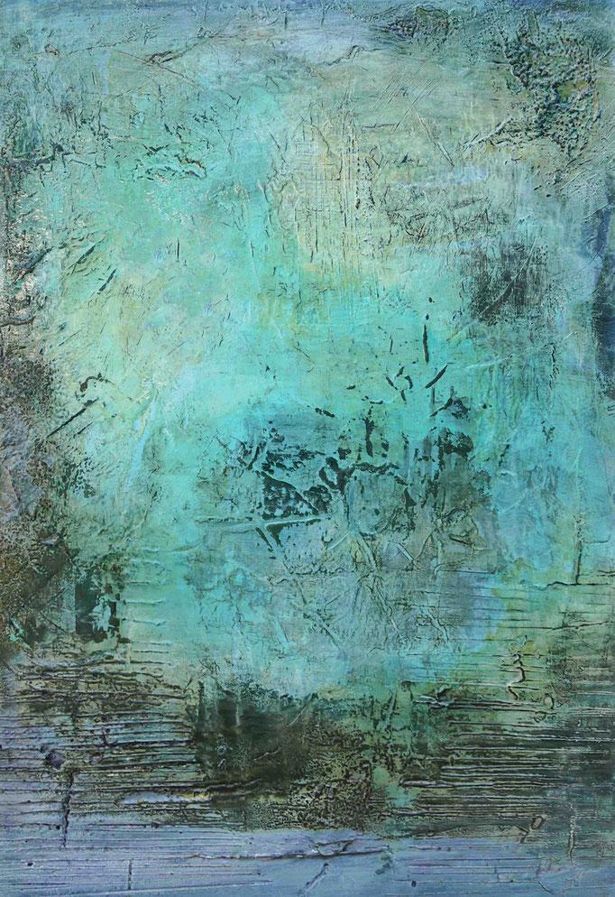 Water Breeze I | 100cm x 70cm x 4cm | 2018