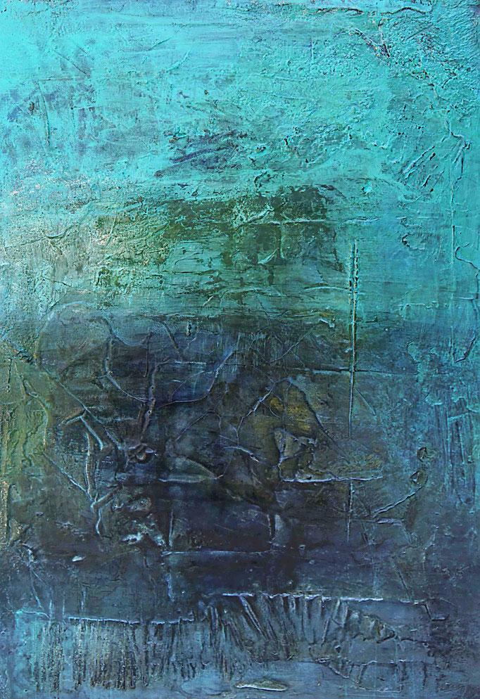Water Breeze V | 100cm x 70cm x 4cm | 2018