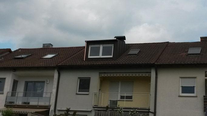 Dachgaubenverkleidung aus Aluminium der Firma Wagenhäuser aus Donnersdorf