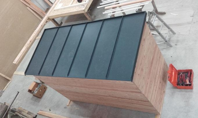 Prefa Dach aus Aluminium der Spenglerei Wagenhäuser aus Donnerdorf