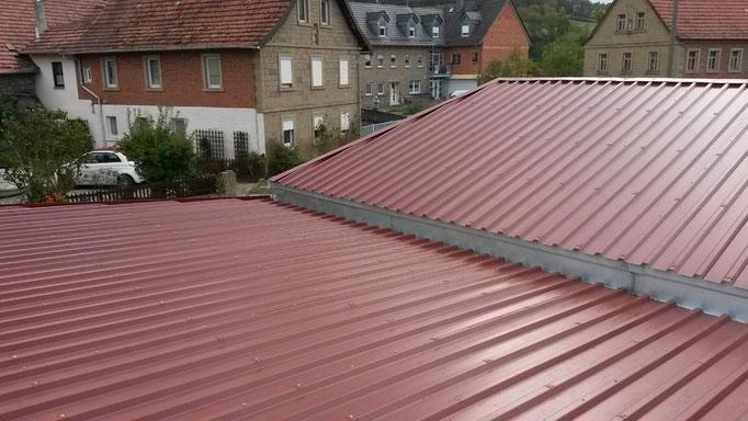 Anbau mit Garage Spenglerei Wagenhäuser aus Donnersdorf