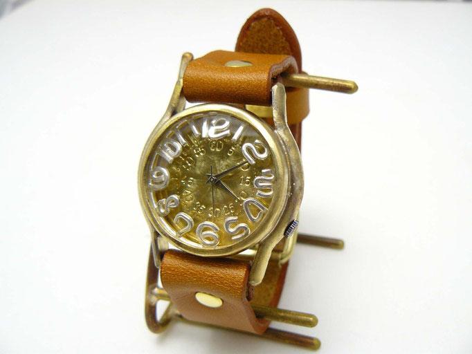 "#355 ""On Time3-B""(シルバーインデックス)   ¥18,000(消費税別)"