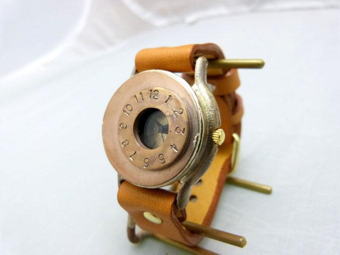 """#332 """"TANK3"""" Copper(銅)ベゼル  ¥19,000(消費税別)"""