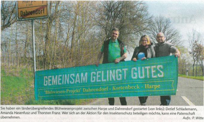 Pressebild von Petra Witte (Elbe Jeetzel Zeitung)