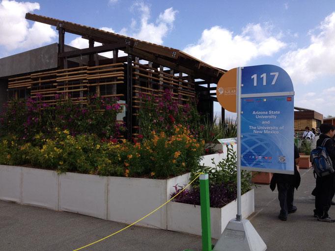 EnviroCoatings - SHADE on Display at Solar Decathlon 2013