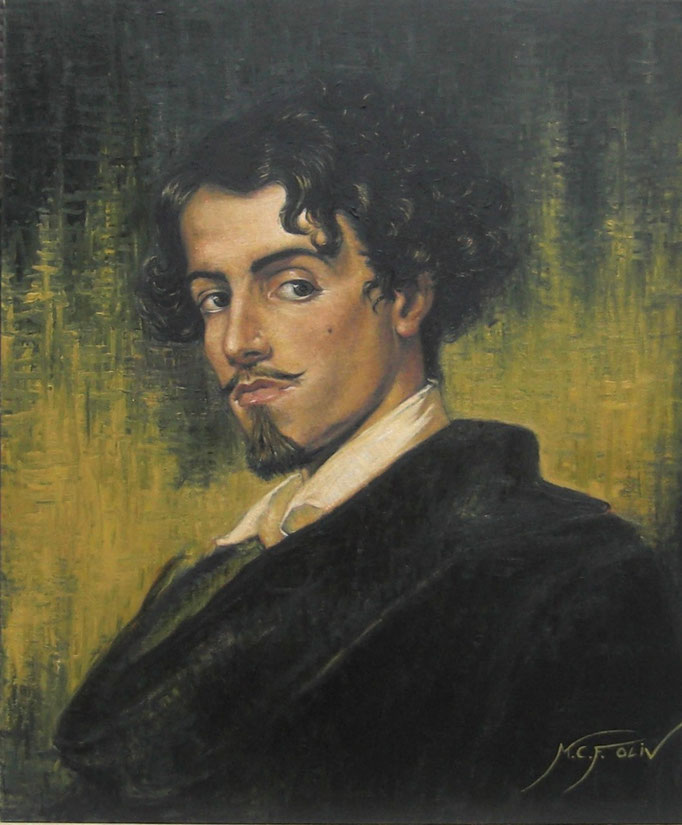 Gustavo Adolfo Bécquer - 54 x 65 cm