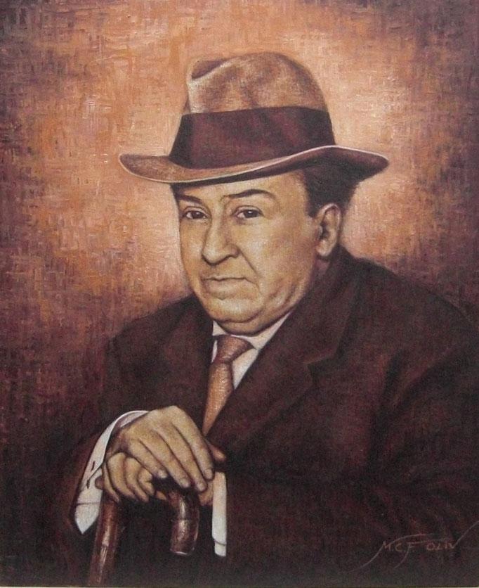 Antonio Machado - 60 x 73 cm