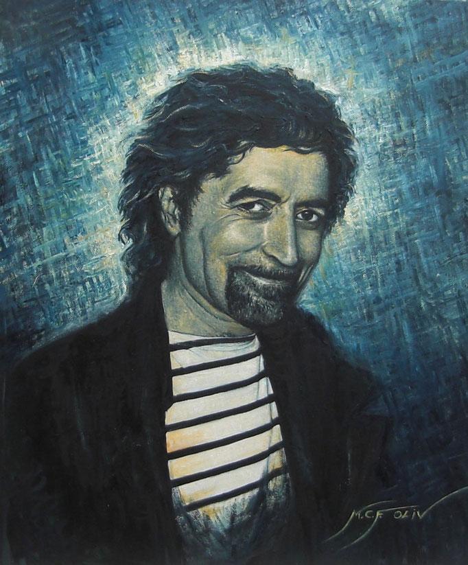 Joaquín Sabina - 54 x 65 cm