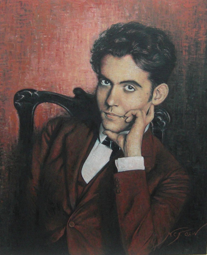 Federico Garcia Lorca - 60 x 73 cm