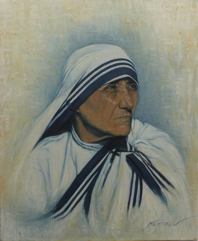 Teresa de Calcuta -  50 x 61 cm