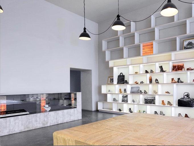 Concept Store / Inneneinrichtung Konzept und Umsetzung
