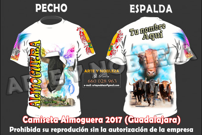 ". - Almoguera 2017 (Guadalajara) ""arteynobleza@gmail.com"""