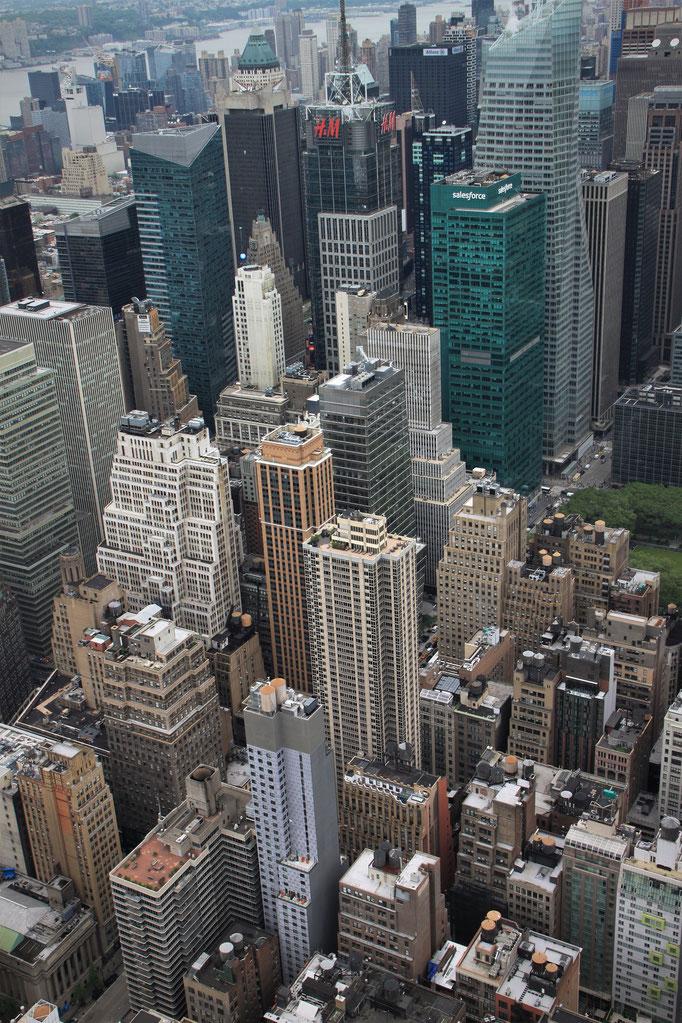 Vue sur Chelsea de l'Empire State Building.