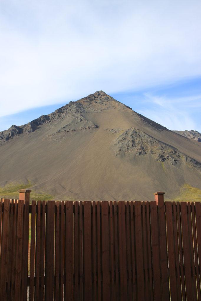 Paysage volcanique près de VIK I MYRDAL.