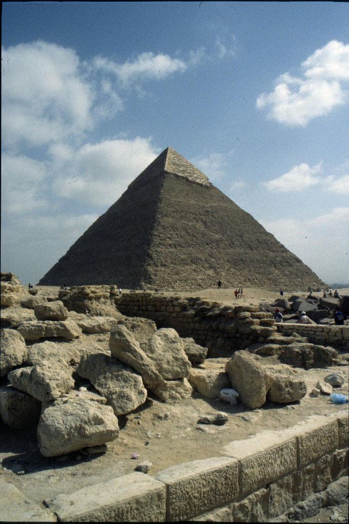 Pyramide de Khéops à GIZA.
