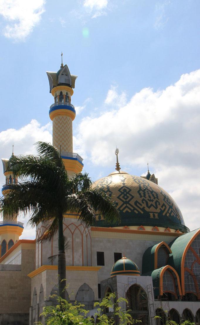 Mosquée sur l'île de LOMBOK.