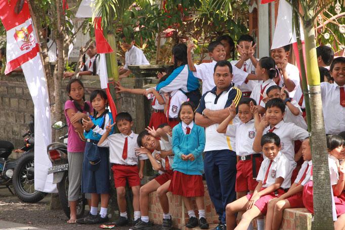 Sidemen. Bali. INDONESIER