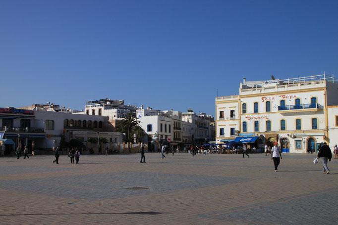 Place principale d'ESSAOUIRA.