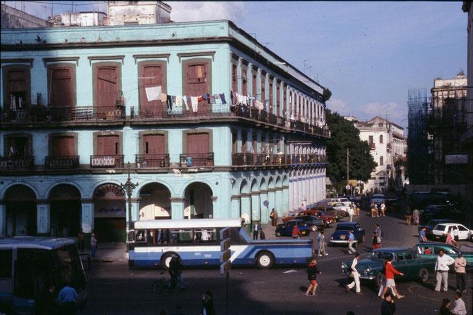 Dans les rues de La Habana. CUBA.