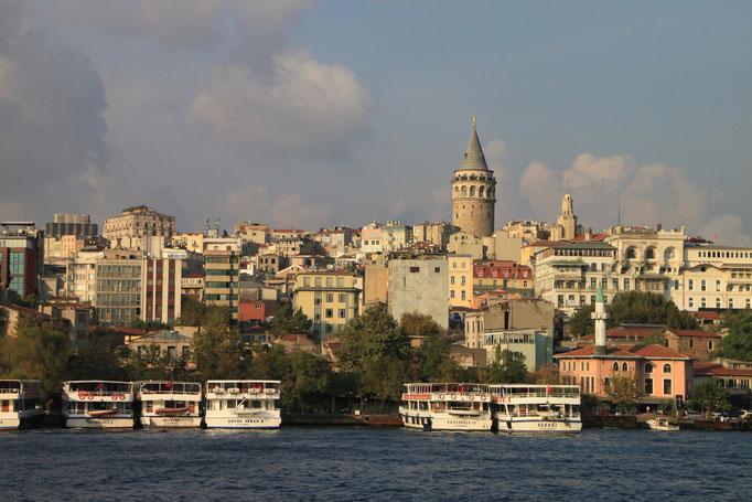 Dans les rues d'ISTANBUL.
