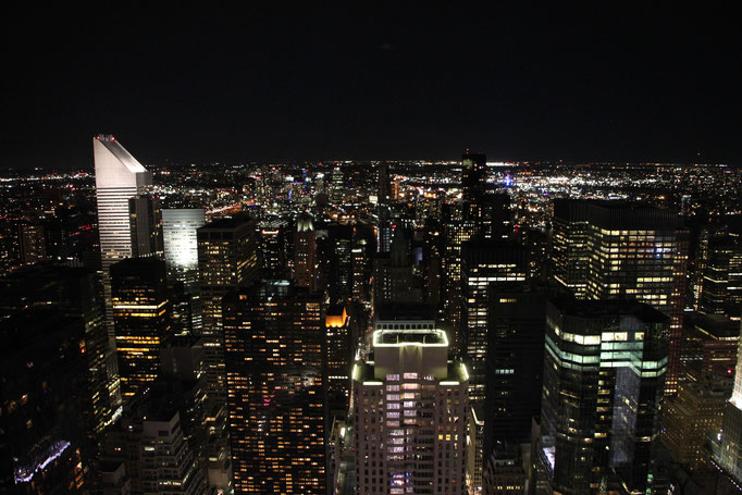 Vue du Rockfeller Center.