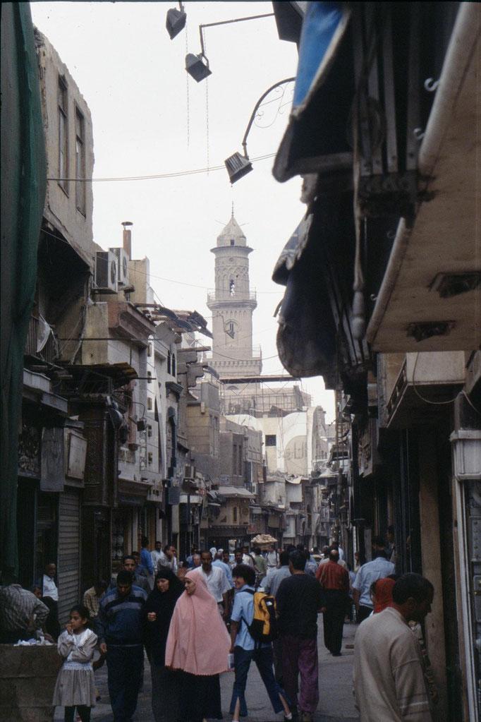 Dans la vieille ville du CAIRE.